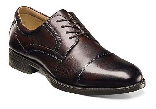 Florsheim Mens Midtown Cap Toe Oxford Brown Smooth Ue3zmmR