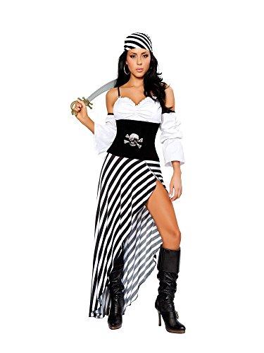 Pirate Lass Adult Costumes (Pirate Lass Adult Costume - Medium)