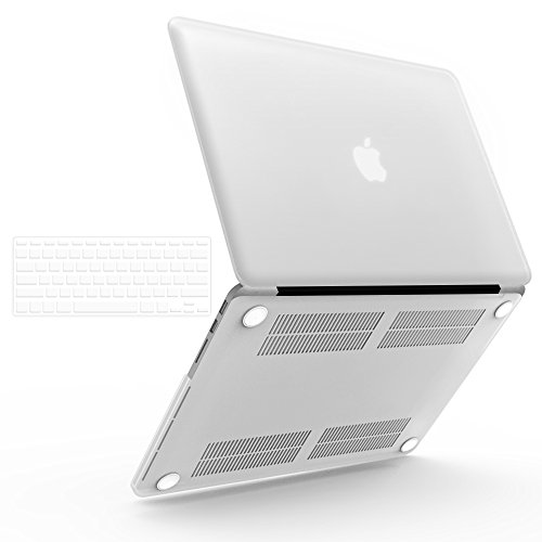 iBenzer Basic Soft-Touch Series Plastic Hard Case Cover for Apple Old Macbook Pro 15.4-inch 15.4