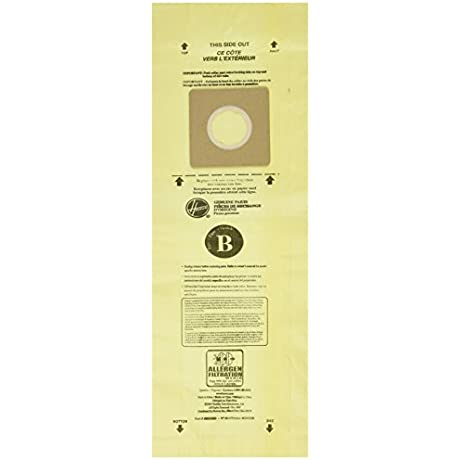 Hoover Type B Allergen Bag 3 Pack 4010103B