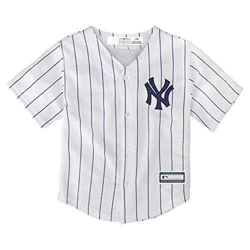 Outerstuff Mickey Mantle New York Yankees #7 Youth Home Jersey (Youth Large 14/16)