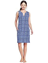 Women's Cotton Jersey Tunic Dress Cover-up