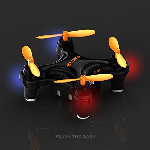 Metakoo Bee Mini Drone RC Quadcopter with Altitude Hold 3D Rolling One-key Taking Off Landing 2.4GHz 4 Channels Portable Drone