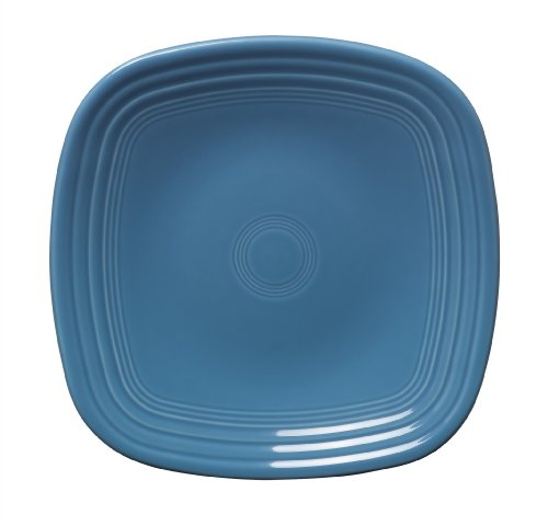 Fiesta 9-1/8-Inch Square Luncheon Plate  Peacock
