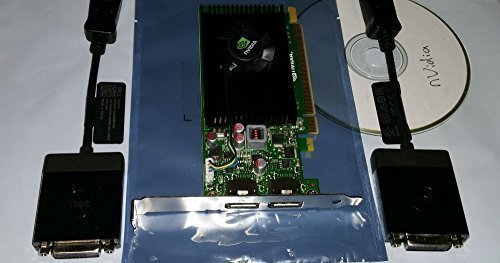 NVIDIA NVS 310 by PNY 512MB DDR3 PCI Express Gen 2 x16 DisplayPort 1.2 Multi-Display Professional Graphics Board, VCNVS310DP-PB (Nview Multi Display)