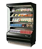 Turbo Air TOM-40 Vertical Open Display Case Cooler Full