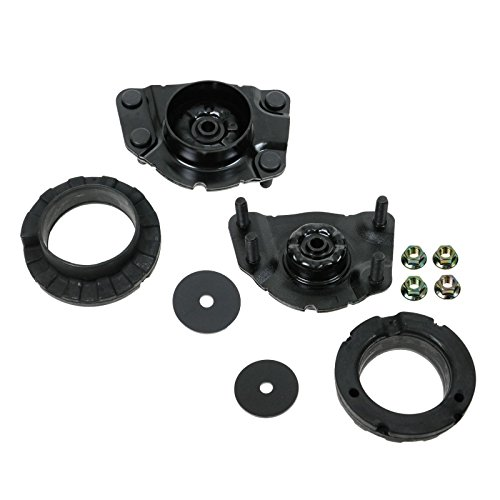 Front Upper Strut Shock Mount Plate Pair Set of 2 For 04-07 Jeep Liberty L & R