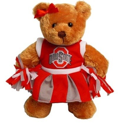 State Bears Bear - Ohio State Cheerleader Bear with Fight Song