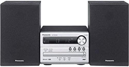 Panasonic SC-PM250BEG - Microcadena (Microcadena de música para Uso doméstico, Negro, Plata, De 2 vías, FM, LCD, MP3)
