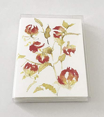 (Gloriosa Lily Note Card Set)