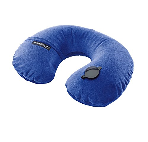 Travel Conair Inflate Fleece Pillow