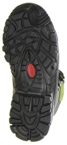 LYTOS 510CHRIS Grün/Grau 80435/13 - Zapatillas de caña alta de cuero infantil verde - verde