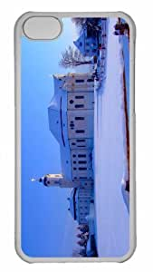 Customized iphone 5C PC Transparent Case - World Cultural Heritage Personalized Cover
