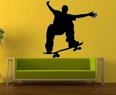 Skate Skateboard Boy Kid Wall Art Vinyl Decal Sticker: Amazon.co.uk ...