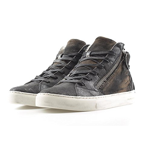 Crime Uomo Crime Alta Size London 40 Sneakers London Canvas rc6qHr