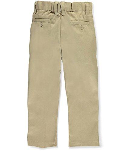 - Preferred School Uniforms Little Boys' Pleated Pants - Khaki, 5