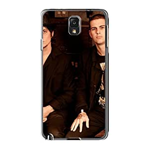 Awesome Avenged Sevenfold Nightmare Flip Cases With Fashion Design For Galaxy Note 3