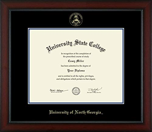 University of North Georgia - Officially Licensed - Gold Embossed Diploma Frame - Diploma Size 14