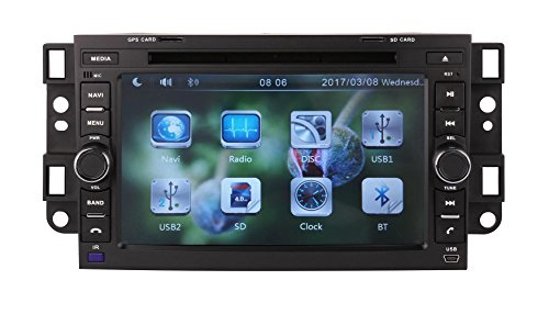XTTEK 7 inch Touch Screen in dash Car GPS Navigation System for Chevrolet Epica / Lova / Captiva / Aveo 2006-2011 DVD Player+Bluetooth SWC+Backup Camera+North America Map