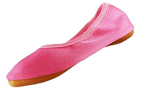 Beck Mädchen Dance Schuhe Babyrosa