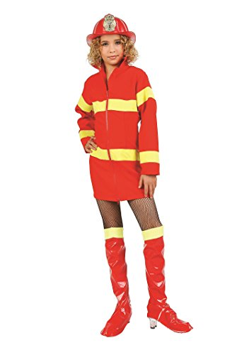 RG Costumes 91490-M Fire Fighter Costume - Size Child Medium 8-10]()