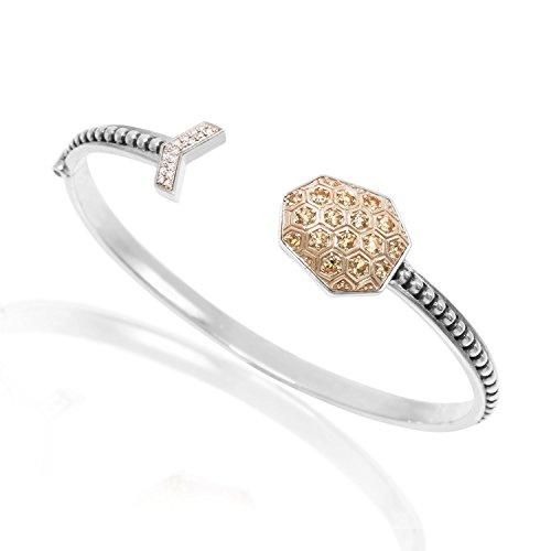 Stephen Dweck femme  Argent 925/1000  Argent sterling Argent|#Silver Rond   Jaune Diamant FINENECKLACEBRACELETANKLET