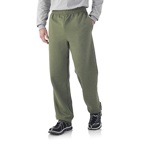 Fruit of the Loom Men's Fleece Elastic Bottom Pant