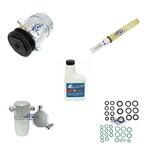 A/C Remanufactured Compressor Kit Fits Buick Park Avenue 2000-2005 V6 3.8L (V5) 57994 ()