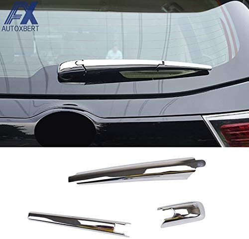 Huanlovely AX Chrome Rear Window Wiper Arm Blade Cover Trim Nozzle Overlay Decoration for Toyota Highlander Kluger 2014 2015 2016 2017 2018