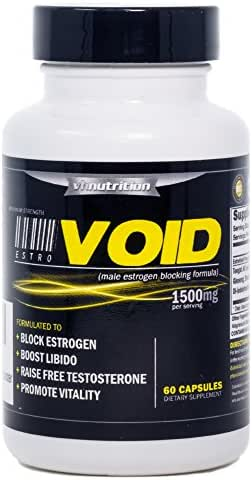 EstroVoid | Estrogen Blocker for Men |1500mg Natural Aromatase Inhibitor, Anti Estrogen, and Testosterone Booster - Boost Performance, Mood, Energy and Stamina