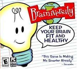New Brighter Minds Brainiversity Keep Your Brain Fit Games Puzzle Solving Windows Xp Vista by SelectSoft Publishing