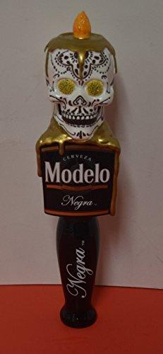 Negra Modelo Signature Dia De Los Muertos Sugar Skull Tap Handle