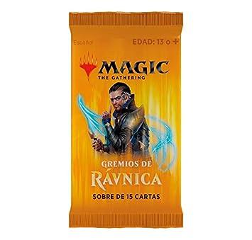 Magic The Gathering Gremios de Rávnica 3 Sobres 15 Cartas ...