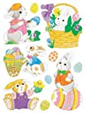 Impact Innovations Classic Easter Window Clings 12'' X 17''