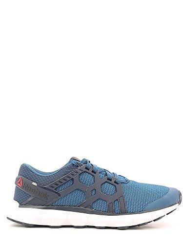 Reebok Hexaffect Run 4.0, Chaussures de Running Entrainement Homme Bleu - Azul (Noble Blue / Coll Navy / White)