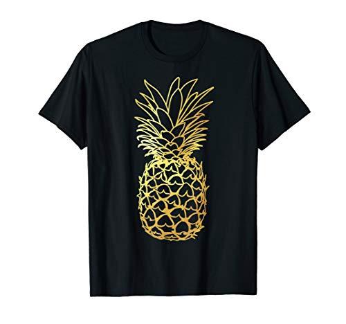 Pineapple Aloha Beaches T shirt Hawaiian Hawaii Bridal Gift