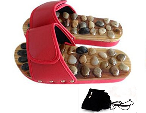Kkika-Plantar-Acupoint-Massage-Shoes-Health-Natural-Cobblestone-Massage-Slippers-Home-Lovers-Slippers-Summer-Acupoint-Tai-Chi-Shoes