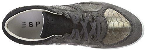Esprit Lune Lace Up - Zapatillas Mujer Negro - negro (001 black)