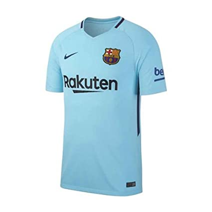 1ad6389b5 Amazon.com   Nike YOUTH Barcelona Away Soccer Stadium Jersey 2017-18 ...