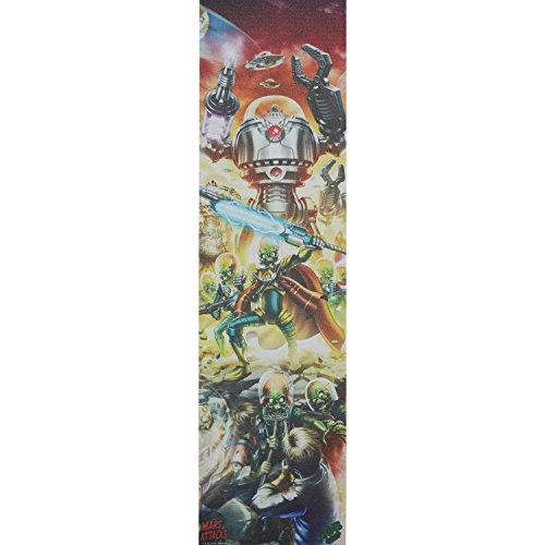 Santa Cruz Skateboards MOB Mars Attacks Poster Griptape - 9
