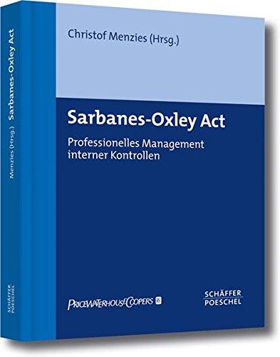 Sarbanes-Oxley Act. PDF