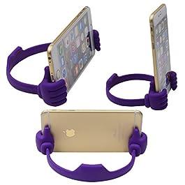 Honsky Thumbs-up Cell Phone Stand Holder, Tablet Stand Cradle for Desk Desktop Smartphone Cellphone Mobile Phone Tablets…