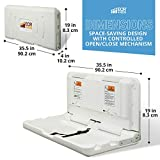ECR4Kids Wall-Mounted Baby Changing