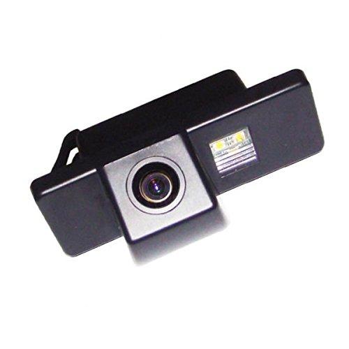 akhan CAM10–12–Caméra de recul, aide au stationnement, caméra couleur pour numéro de plaque Éclairage de plaque minéralogique