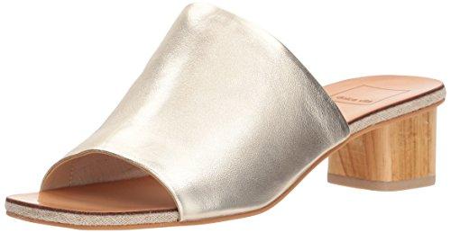 Slide Women's Sandal Gold Dolce Kaira Vita Leather t7xqnAU