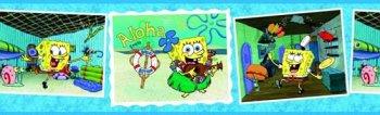 Sponge Bob Aloha Border