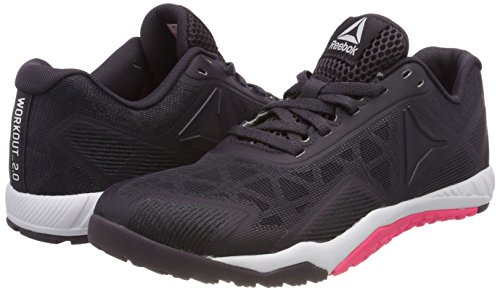 White Reebok 2 Chaussures Tr Ros Workout Femmes Pour 0 Fitness Acid Pink Multicolores smoky Volcano De vwFqvOBa