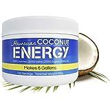 Hawaiian Coconut Water Energy Drink Powder, 100 Servings, Clean Instant Coconut Drink - Just add water, Non GMO Vegan Gluten Free