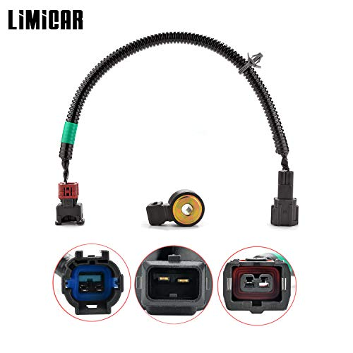LIMICAR Knock Detonation Sensor with Wiring Harness KS79 2206030P00 Compatible w/Infiniti G20 I30 J30 M30 Q45 QX4 Mercury Villager Nissan 200SX 240SX Pathfinder Pickup Quest Sentra