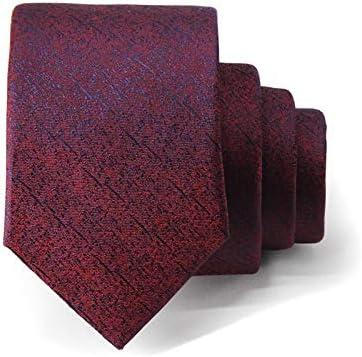 JEOSNDE Vino Rojo púrpura Degradado Vestido de los Hombres Corbata ...